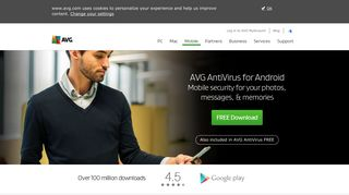 AVG Free Antivirus for Android | Tablet & Mobile Security App
