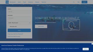 American Express UK | Log in | Credit Cards, Travel & Rewards