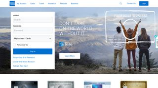 American Express Canada | Credit Cards, Travel, Insurance & More