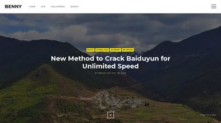New Method to Crack Baiduyun for Unlimited Speed - Benny