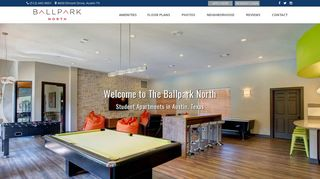 The Ballpark North | Student Apartments in Austin, Texas