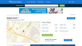 Ballpark South - 28 Reviews | Austin, TX Apartments for Rent ...