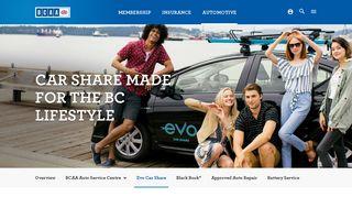 Evo Car Share | BCAA