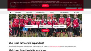 British Heart Foundation: Welcome