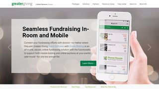 Greater Giving: Nonprofit Fundraising Software & Fundraising Ideas