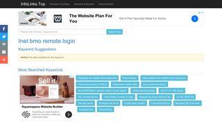 Inet bmo remote login Search - InfoLinks.Top
