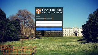 Bookshelf - Cambridge University Press