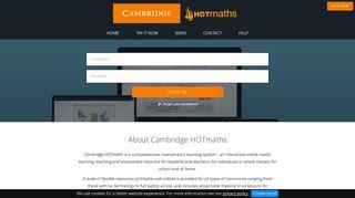 Cambridge HOTmaths
