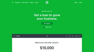Small Business Loans & Business Financing | Square Capital