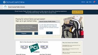 SchoolCashOnline.com: Welcome