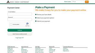Payment Center - ACE Cash Express