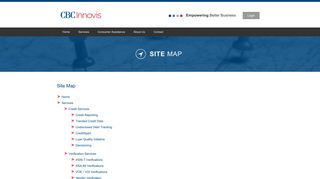 Site Map - CBCInnovis :: Proven solutions to assist with your ...