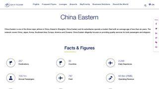 China Eastern   Eastern Miles   SkyTeam