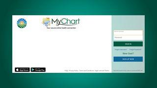 FAQs - MyChart - Login Page