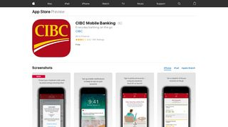 CIBC Mobile Banking on the App Store - iTunes - Apple