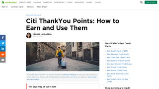 Citi ThankYou Points: How to Earn and Use Them - NerdWallet