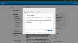 Online Banking – Internet Banking Services - Citibank - Citi.com