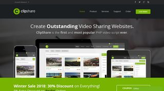 ClipShare - Industry-Leading PHP Video Sharing Script