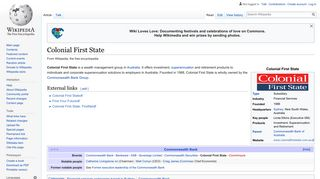 Colonial First State - Wikipedia