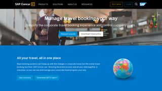 Online Corporate Travel Booking, Travel Management ... - Concur