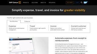 Expense Management, Travel, Invoice Software, Travel Expense ...