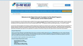 For Patients   COPAYS.ORG