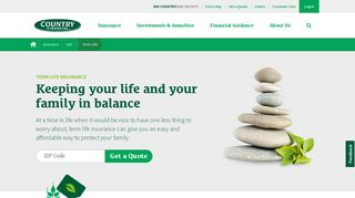 Term Life Insurance Coverage - COUNTRY Financial