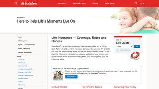 Life Insurance – State Farm®