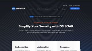 Home - D3 Security - D3 Security