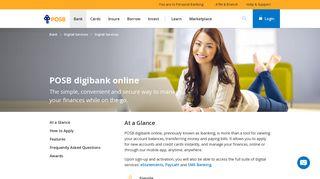 POSB digibank online | POSB Singapore