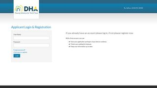 Login to DHA Live to track your account   DHA Live - RENTCafe
