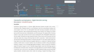 Classteacher Learning Systems – Digital Interactive Learning | Digital ...