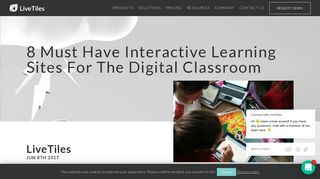 8 Must Have Interactive Learning Sites For The Digital Classroom