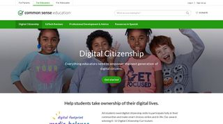 Digital Citizenship | Common Sense Education
