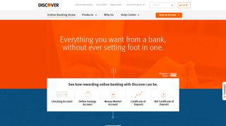 Online Bank from Discover | Open an Online Bank Account Today