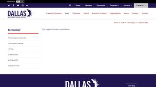 Technology / Chancery SMS - Dallas ISD