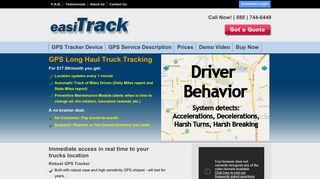 EasiTrack - GPS for Long Haul Trucking