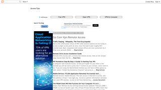 Access Vpn: Ge Com Vpn Remote Access