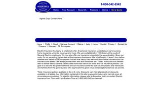 Agents - Electric Insurance Company