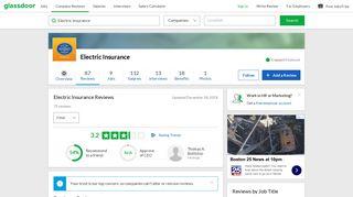Electric Insurance Reviews | Glassdoor