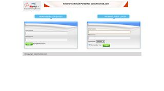 Welcome to bizmail+ - Login - SS Technomed