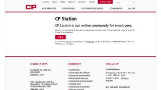 CP Station - Canadian Pacific Railway