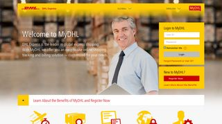 Global Express Shipping - MyDHL