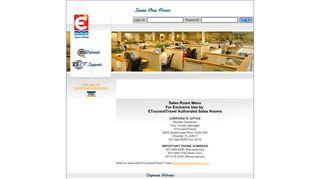 ETourandTravel - Sales Room Information Site