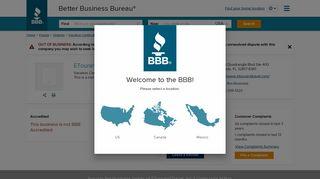 ETourandTravel, Inc. | Better Business Bureau® Profile