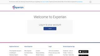 Experian Log in | Experian UK