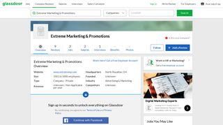 Working at Extreme Marketing & Promotions   Glassdoor