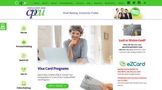 Visa Card Programs   CorePlus Credit Union ~ Eastern CT