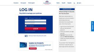 Log in - Farmers Insurance