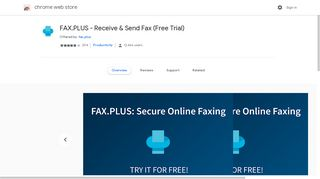 FAX.PLUS - Receive & Send Fax (Free Trial) - Google Chrome